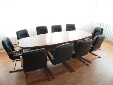 Conference Table Stock Photo - 4660938