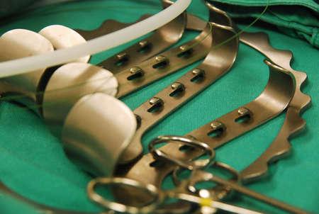 laparoscopic: Self retaining retractor Stock Photo