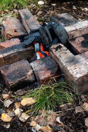 fire bricks: bonfire