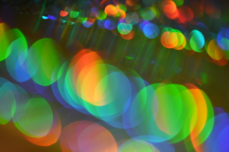 Bokeh, out of focus sunlight effect on the color paper background , defocus sunlight effect on color paper, abstract background