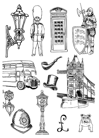 The city of London Illustration