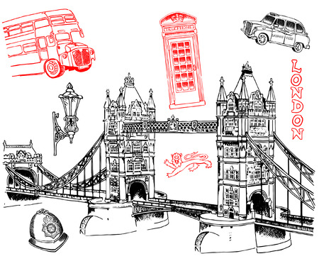 The city of London Ilustrace