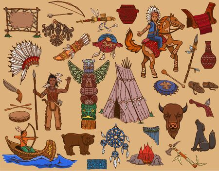 Indians of North America and their way of life