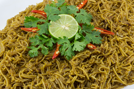 vermicelli: fried rice vermicelli thailand style