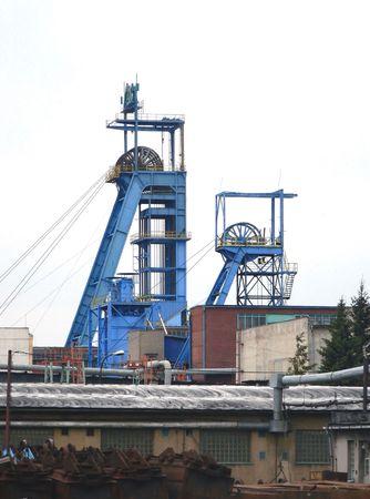 Black coal mine