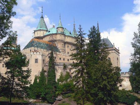 Chateaux of Bojnice Stock fotó