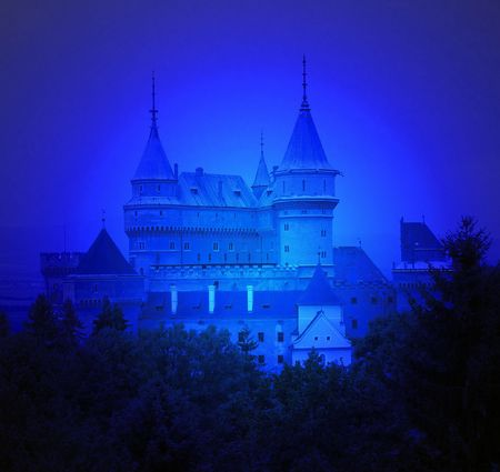 Blue Chateaux of Bojnice