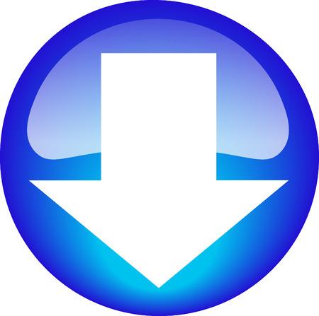 Download Button Illusztráció