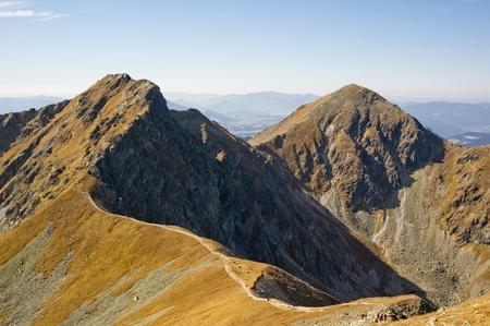Western Tatras (Rohace), very dangerous Tri kopy peak
