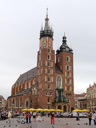 St Mary's Church in Krakau
