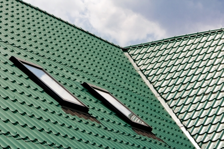 New green roofing from stainless metal plate