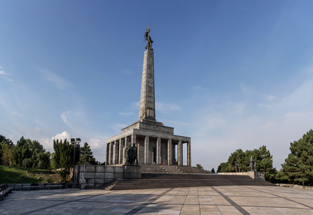 reminiscent: Slavin memorial in Bratislava, Slovakia, reminiscent of soviet soldiers