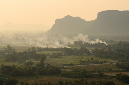 Landscape in Thailand photo