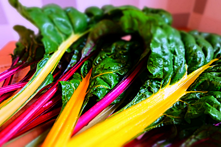 Colorful Mangold Vegetables
