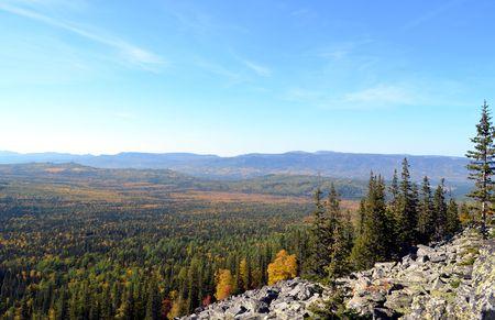 Ural Mountains, Ecopark Zyuratkul, Iremel. Stock Photo
