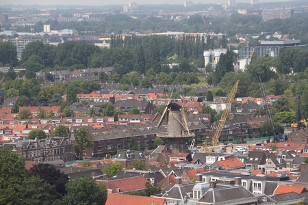 delft: Delft. View from the clock tower.
