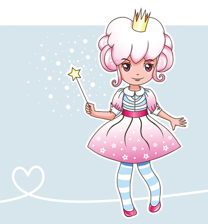 Sugar magic princess (Fairy series 1) Illustration