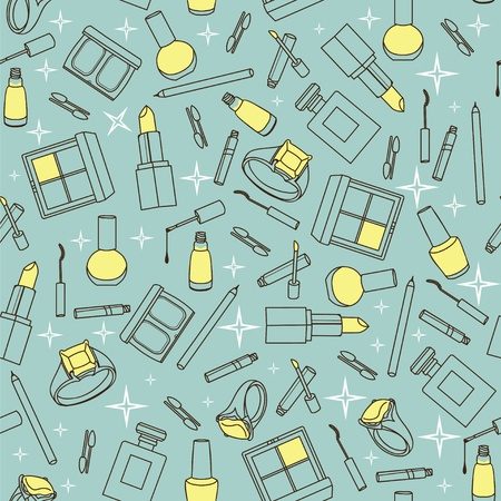 Stylish pastel colors seamless pattern Stock Vector - 11002251