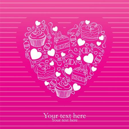 For my precious sweetheart Stock Vector - 11966501