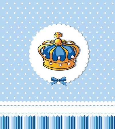 Cover template for royal party