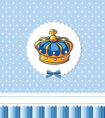 Cover sjabloon voor koninklijke partij