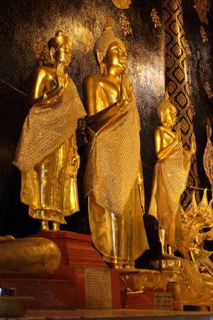 Buddha statue in the Buddhist sanctuary
