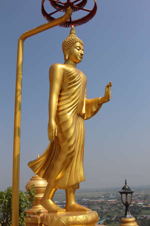 Lord Buddha statue in Thailand Stock Photo