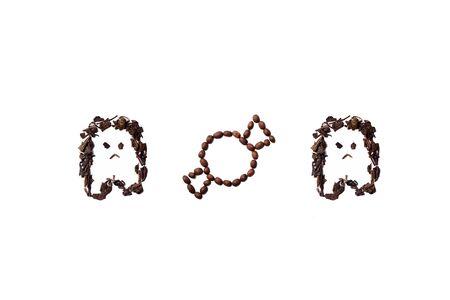 Coffee & Tea Halloween Stock Photo