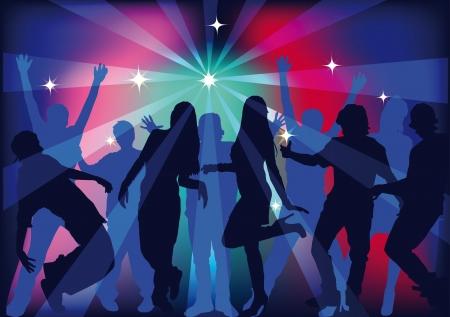 mensen dansen op een feestje