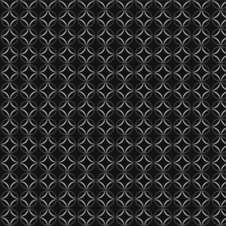 Abstract seamless pattern in black and white