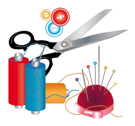 Tools and materials for sewing