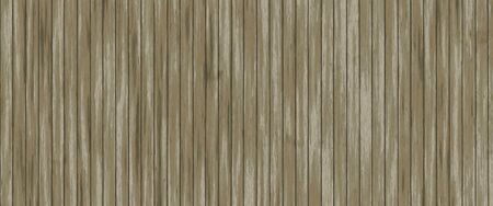 Texture of old wood. Highly realistic illustration. Vertically located wooden boards. Stock Photo