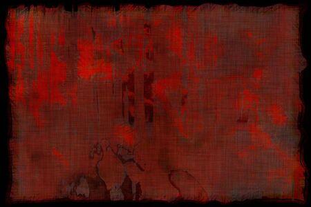 Old dark horror grunge texture. Halloween background with copy space.Design element.