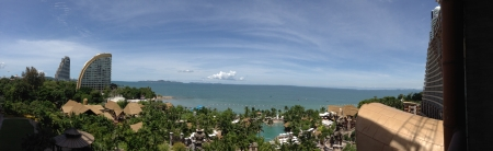 a mirage: This photo is view from 6th. Floor of Centara Grand Mirage Pattaya