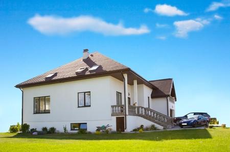 detached: living house