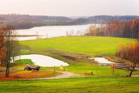 Landscape of Latvia 版權商用圖片