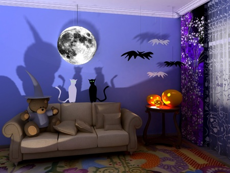 babyroom: Halloween babyroom (child-room)