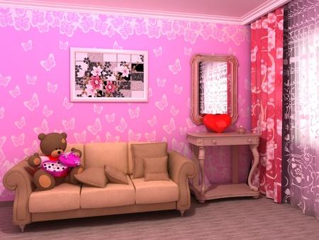 babyroom: St. Valentines Day babyroom