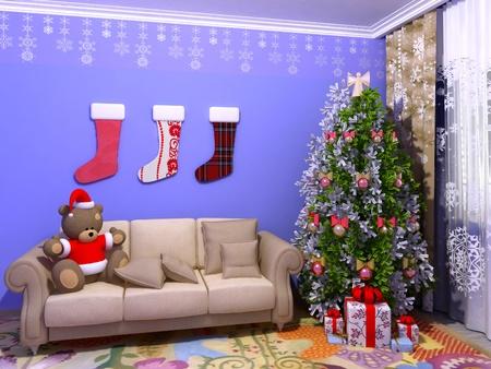 babyroom: Christmas babyroom (childroom)