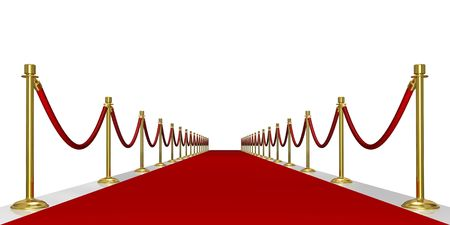 Red carpet entrance Stock Photo - 2945399