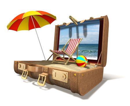 valise: Vacation at home