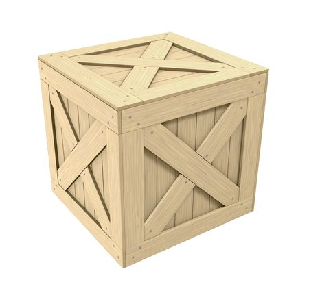 chit: Wooden Crate