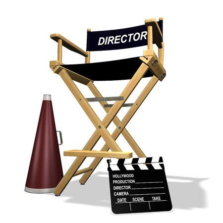 directors: Directors equipment Stock Photo