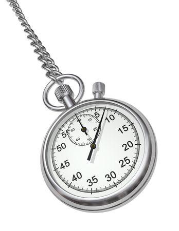 reloj de pendulo: Cron�metro  Foto de archivo