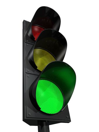 semaphore: Green light
