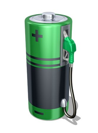rechargeable: Eco Fuel Stock Photo