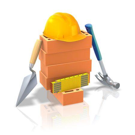 edifice: Building Tools Stock Photo