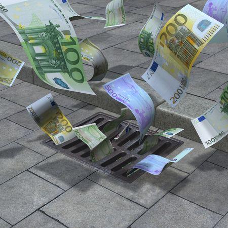 banconote euro: Strada dei cervelli