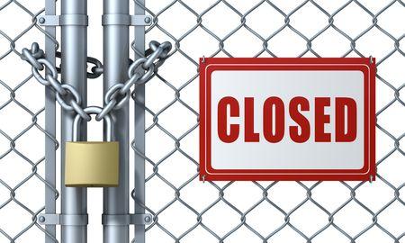 Closed Stock Photo - 6449740