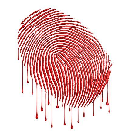 bloody: Bloody fingerprint